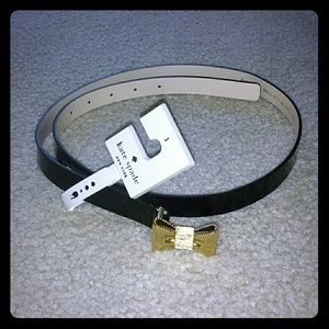 NWT Kate spade patent leather belt